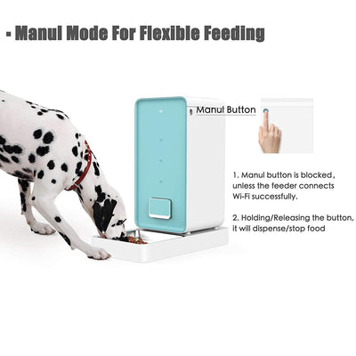 Double Fresh Lock System Dog Food Dispenser