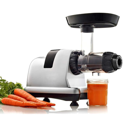 Juicer Extractor With Gear Reduction System