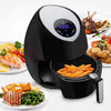 Electric Hot Air Fryer Oven With Digital Display(Black)