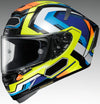 X-14 Helmet - Brink (YELLOW/BLUE)