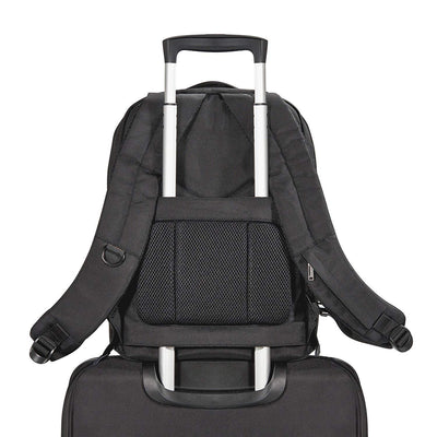 Slim High-Contrast Lining Laptop Backpack