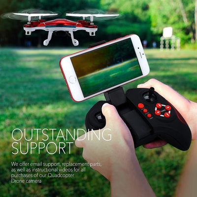 Drone With Remote Control For Beginners Kids,Red