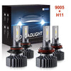 LED Headlight Bulbs Combo Package