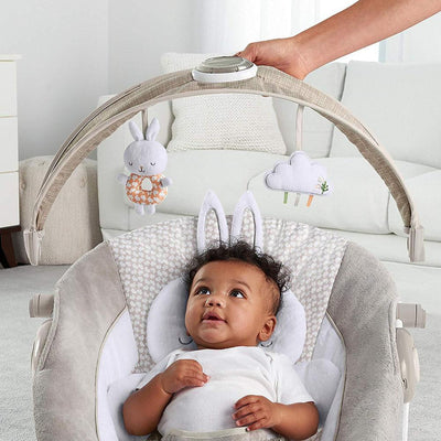 Infant Seat With Reversible Support Bolster