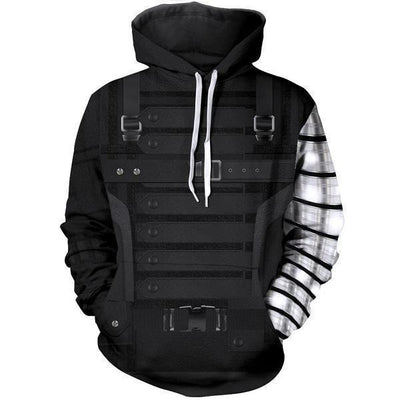 100% Polyester Stretchable Hoodie