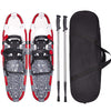 Pair shock Snowshoeing Poles, Adjustable Ratchet