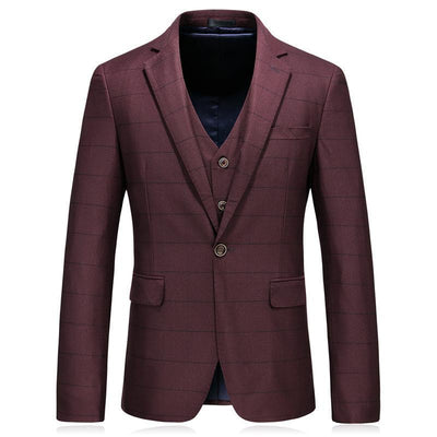New Arrival Horizontal Striped Suits For Men