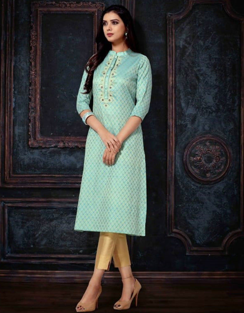 Embroidered Kurti (Indian Wear Kurti)