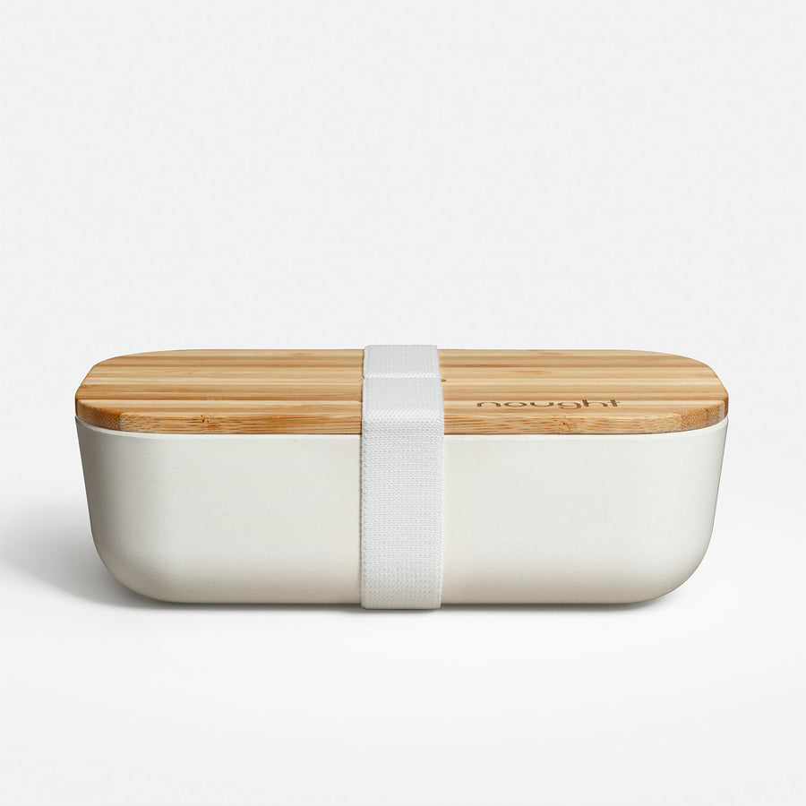 Nought bamboo reusable lunchbox