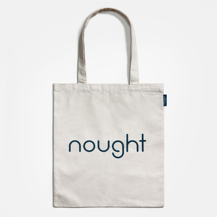 Nought organic cotton reusable bag