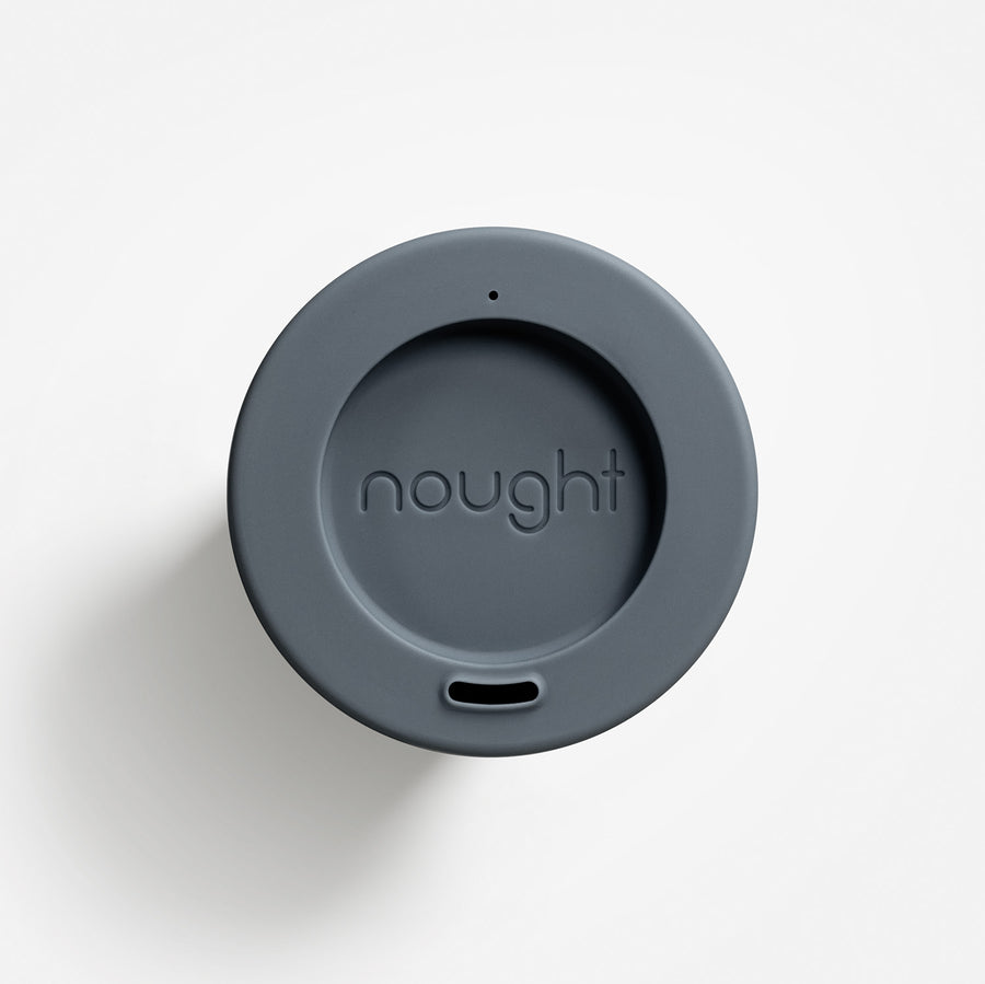 Nought reusable coffee cup lid