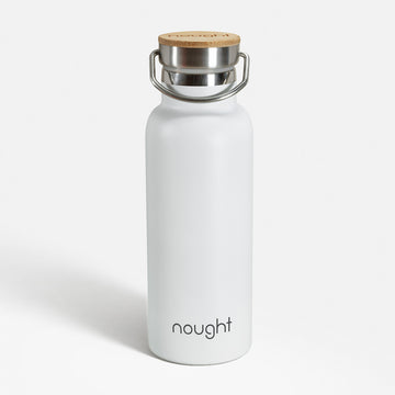 Nought stainless steel reusable water bottle