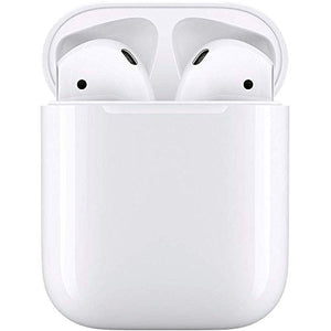 Apple MMEF2AM/A AirPods Wireless Bluetooth Headset for iPhones with iOS 10 or Later White - (Refurbished) - HIJUNMI Wifi Home Security Camera