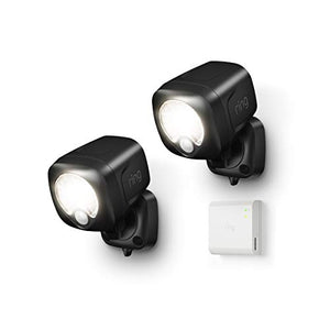 Introducing Ring Smart Lighting -  Spotlight, White (Starter Kit: 2-pack) - HIJUNMI Wifi Home Security Camera