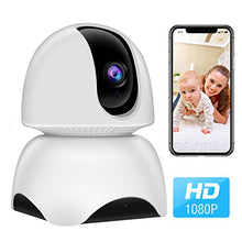 Load image into Gallery viewer, HIJUNMI WiFi Camera, 1080P Wireless IP Home Security Surveillance Camera,Two Way Audio, Night Vision and Motion Detection - HIJUNMI Wifi Home Security Camera