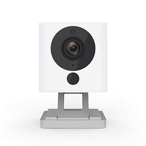 Wyze Cam 1080p HD Indoor Wireless Smart Home Camera with Night Vision, 2-Way Audio, Works with Alexa - HIJUNMI Wifi Home Security Camera