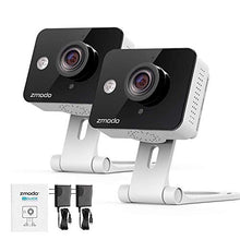 Load image into Gallery viewer, Zmodo Wireless Security Camera System (4 Pack) , Smart Home HD Indoor Outdoor WiFi IP Cameras with Night Vision, 1-month Free Cloud Recording - HIJUNMI Wifi Home Security Camera