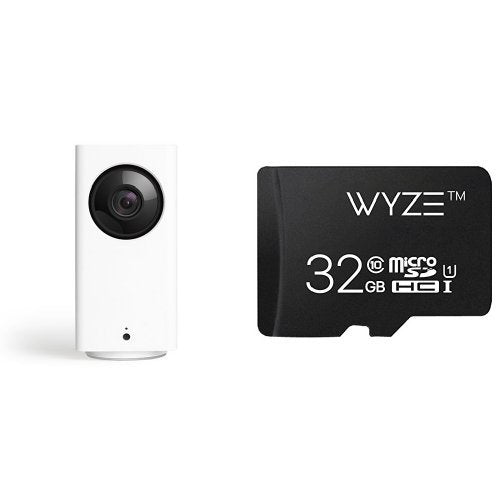 Wyze Cam Pan 1080p Pan/Tilt/Zoom Wi-Fi Indoor Smart Home Camera with Night Vision and 2-Way Audio, Works with Alexa
