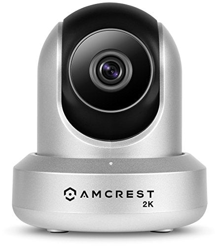 Amcrest UltraHD 2K WiFi Camera 3MP (2304TVL) Dualband 5ghz / 2.4ghz Indoor Pan/Tilt Surveillance Wireless IP Camera, Home Video Security System with IR Night Vision, Two-Way Talk IP3M-941B (Black) - HIJUNMI Wifi Home Security Camera