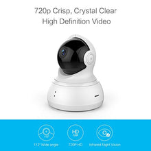 Load image into Gallery viewer, YI Dome Camera Pan/Tilt/Zoom Wireless IP Indoor Security Surveillance System 720p HD Night Vision, Motion Tracker, Auto-Cruise, Remote Monitor with iOS - HIJUNMI Wifi Home Security Camera
