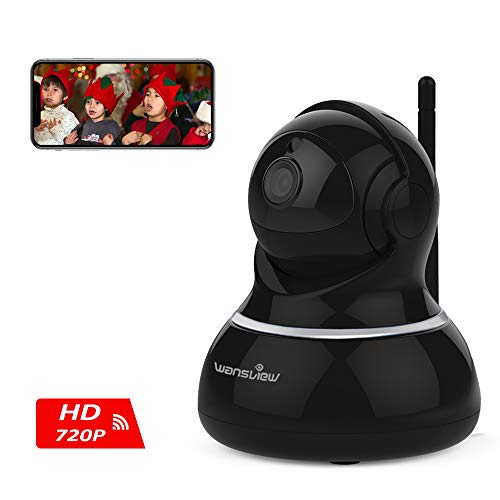 Wansview Wireless Security Camera, WiFi Home Monitor Surveillance Camera  for Baby/Elder/ Pet/Nanny Monitor, Pan/Tilt, Two-Way Audio & Night Vision