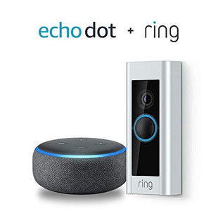 Ring Video Doorbell Pro, Works with Alexa (existing doorbell wiring required) - HIJUNMI Wifi Home Security Camera
