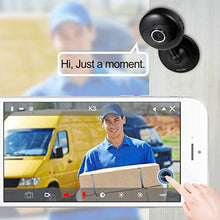 Load image into Gallery viewer, Wansview Home Security Camera, 1080P Wireless WiFi Indoor IP Surveillance Indoor Camera for Baby/Elder/Pet/Nanny Monitor with Night Vision and Two-Way Audio-K3 (Black)