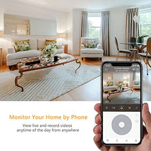 Load image into Gallery viewer, YI Cloud Home Camera, 1080P HD Wireless IP Security Camera Pan/Tilt/Zoom Indoor Surveillance System with Night Vision, Motion Detection and Baby Crying Detection, Remote Monitor with iOS, Android App - HIJUNMI Wifi Home Security Camera