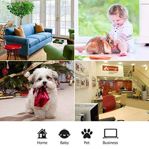 Wansview Wireless 1080P IP Camera, WiFi Home Security Surveillance Camera for Baby/Elder/Pet/Nanny Monitor, Pan/Tilt, Two-Way Audio & Night Vision Q3-S - HIJUNMI Wifi Home Security Camera