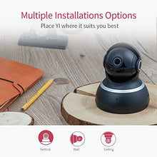Load image into Gallery viewer, YI Dome Camera 1080p HD Pan/Tilt/Zoom Wireless IP Security Surveillance System with Auto-Cruise, Motion Tracker, Activity Alert, Night Vision, iOS, Android App - Cloud Service Available (Black)