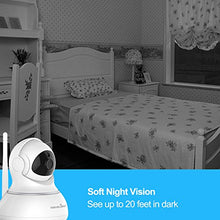 Load image into Gallery viewer, Wansview Wireless Security Camera, WiFi Home Monitor Surveillance Camera for Baby/Elder/ Pet/Nanny Monitor, Pan/Tilt, Two-Way Audio & Night Vision Q3(Black)