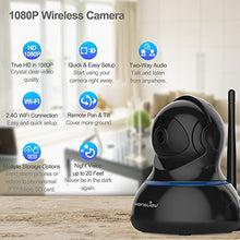 Load image into Gallery viewer, Wansview Wireless 1080P IP Camera, WiFi Home Security Surveillance Camera for Baby/Elder/Pet/Nanny Monitor, Pan/Tilt, Two-Way Audio & Night Vision Q3-S