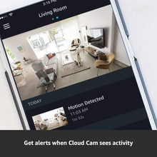 Load image into Gallery viewer, Amazon Cloud Cam Security Camera, Works with Alexa - HIJUNMI Wifi Home Security Camera