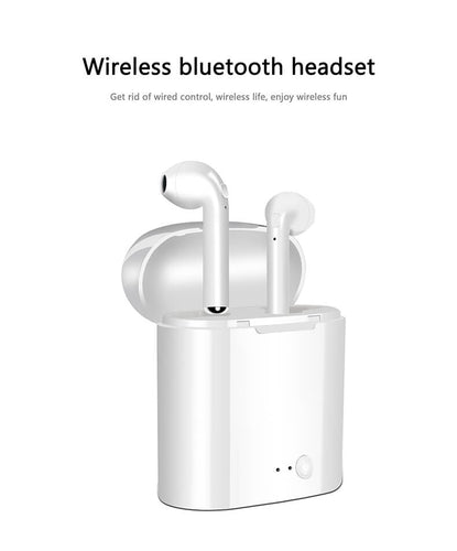 HIJUNMI New Air Pods TWS Mini Bluetooth Earphones Original headphones Wireless Earbuds Headsets Wireless Air Pods For Xiaomi IPhone Android - HIJUNMI Wifi Home Security Camera