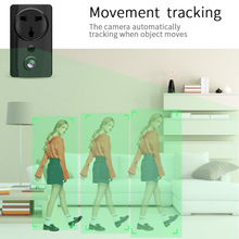 Load image into Gallery viewer, HIJUNMI Spy Camera Charger 1080P Hidden Smart Plug Cam USB Charger Camera Hidden Nanny Cam PIR Body Sensing Motion Detection Night Vision Two-Way Audio Black - HIJUNMI Wifi Home Security Camera