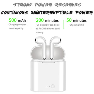 HIJUNMI Air pods Mini Bluetooth Earphones TWS wireless headphones Air pods In Ear Earbuds sport headset stereo For apple iPhone xiaomi - HIJUNMI Wifi Home Security Camera