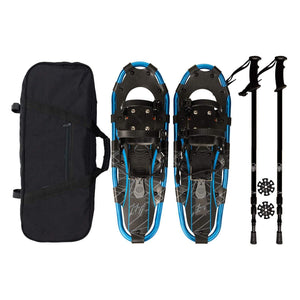 Lightweight Recreational Blue Black Snow Shoe