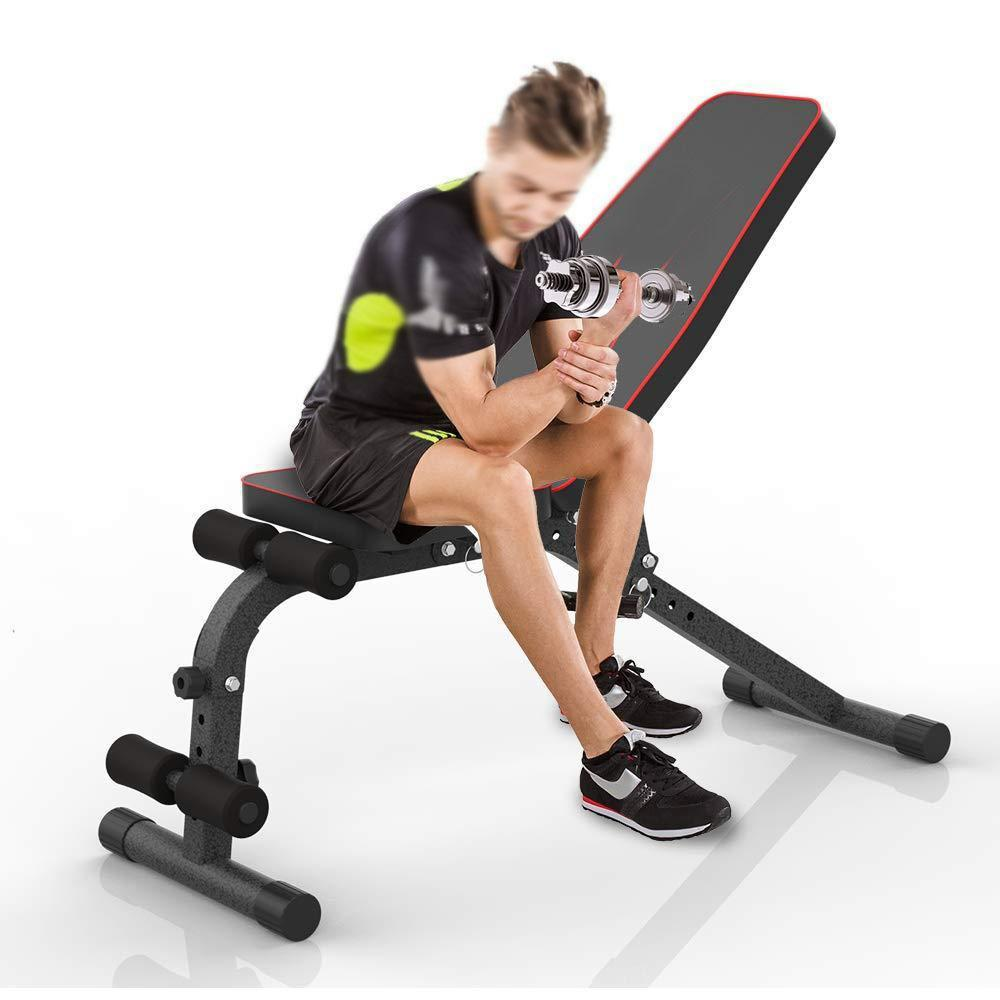 Foldable Fitness Training Weight Bench