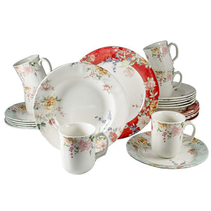 High Quality Porcelain Dinnerware Set,Service for 6