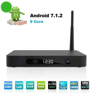 Wi-Fi Bluetooth 4.0 Smart TV Box