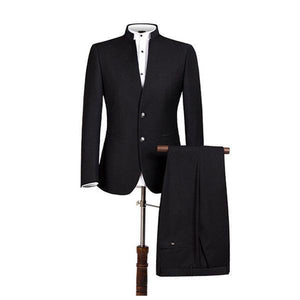 Two Pieces Slim Fit Evening Party Dressing Suit