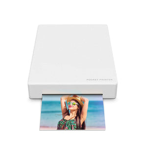 Mini Printer for Android & iOS Devices - White