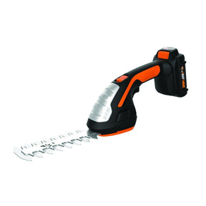 Lithium Ion Shrubber Trimmer,Black and Orange