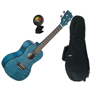 Mahogany Satin Ukulele With Gig Bag and Tuner
