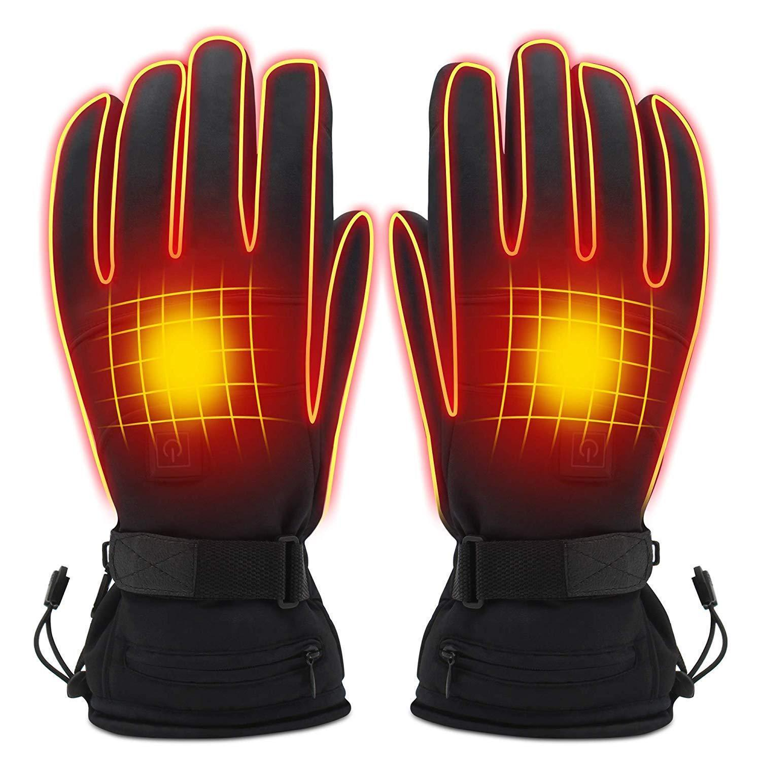 Electric Heated 3 Level Heating Adjustable Gloves