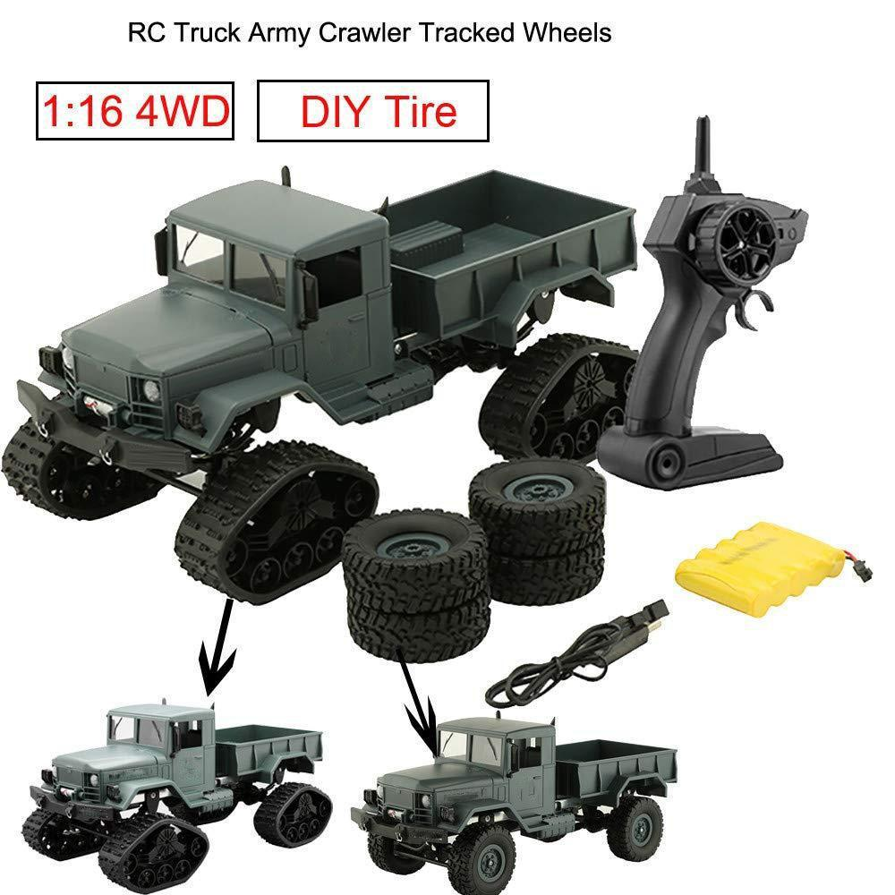 Dual Motors Rechargeable Remote Control Truck
