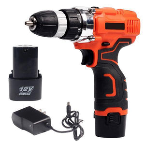 Multi-Function Electric Cordless Drill Deluxe Set