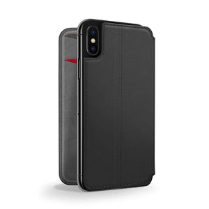 Slim luxury leather Phone Case(black)