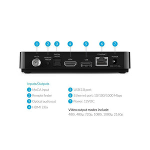 Streaming Media Player With Voice Remote,4K UHD