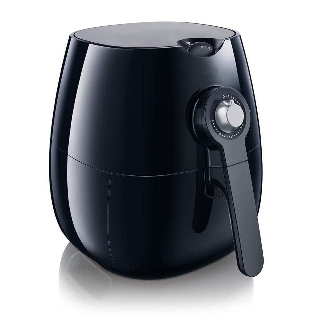Air fryer,1.8lb/2.75qt,Black